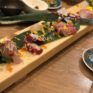 あかぼし鮮魚店鮮魚盛りの画像